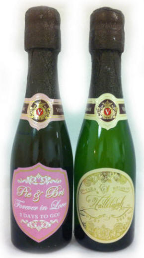 Personalized Champagne Bottles