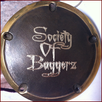 Engraved Motorcycle Gas Cap
