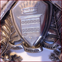 Engraved Coat of Arms