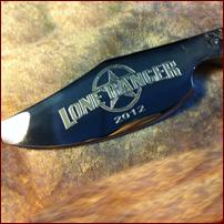 Engraved Pocket Knife