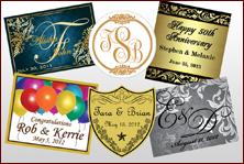 Custom Labels - Anniversary