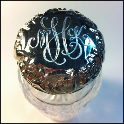Body Creme With Engraved Lid