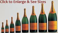 Veuve Clicquot Sizes