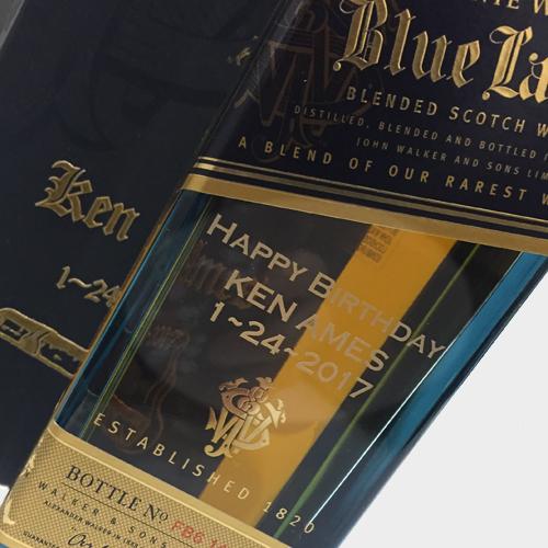 Engraved Scotch Bottles