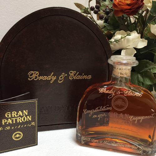 Engraved Tequila